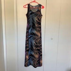 Palm Fronds Tank Dress